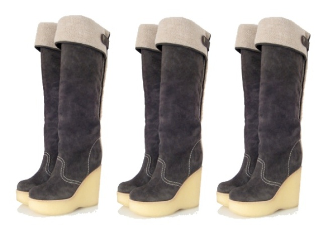 See by Chloe's Winter Wedge Boots