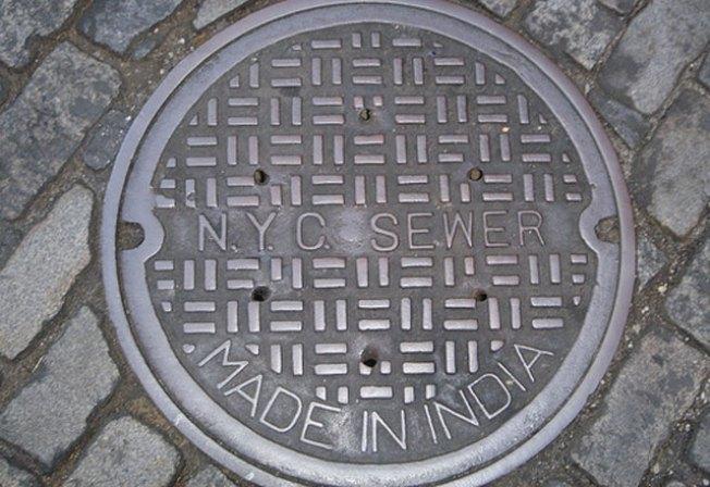 Texting Teen Falls Down Manhole