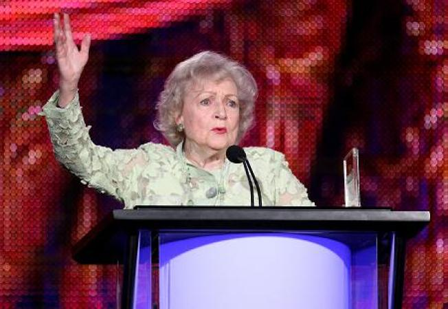 "Betty White to Lorne Michaels: It's ""Up To (You)"""