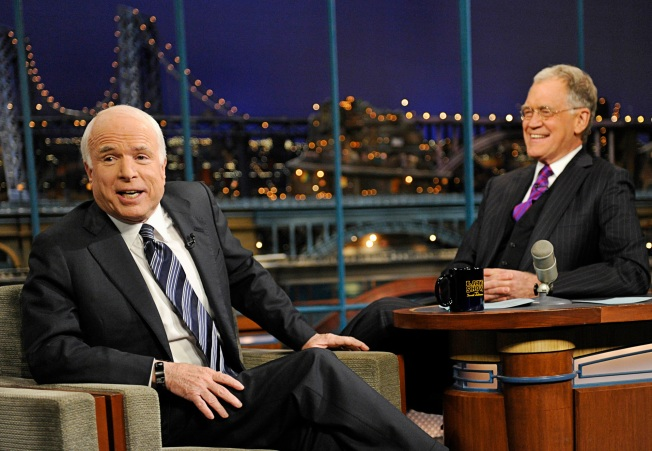 Pols Covet Appearances on Late-Night Shows