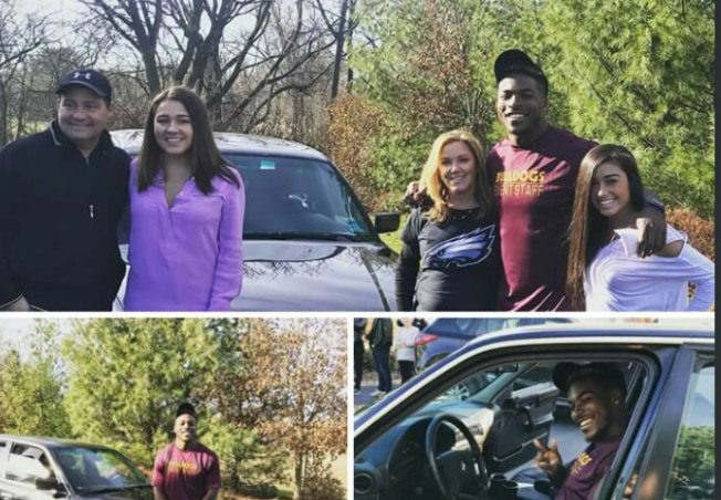 Eagles Rookie RB Corey Clement Won a Car in a Bet With His High School Guidance Counselor for Making It to NFL