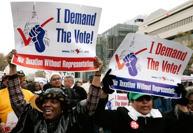 DC on Verge of Getting Vote