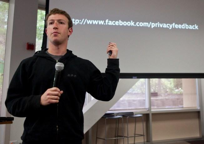 Zuckerberg Selling Millions of Facebook Shares