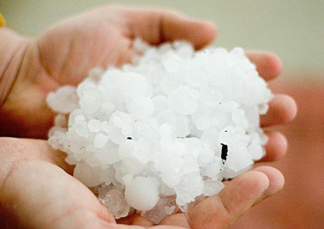 Wild March Hail Storm Hits Area