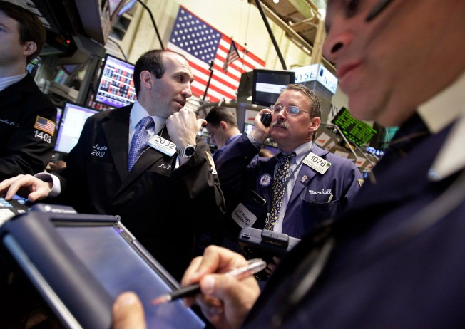 Stocks Surge - S&P Turns Positive for 2009