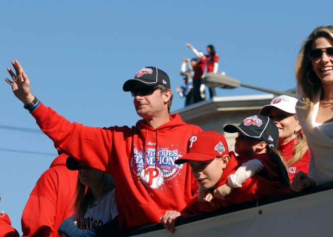 Watch: Phillies Speak From the Parade of Champions