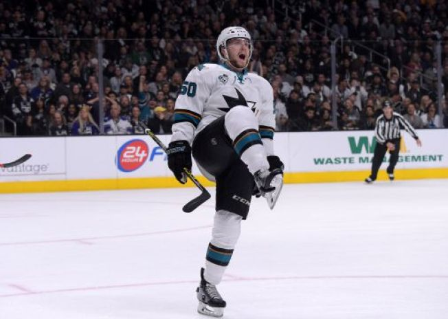NHL Playoffs: Sharks Eliminate Kings With 3 Goals in 3rd Period
