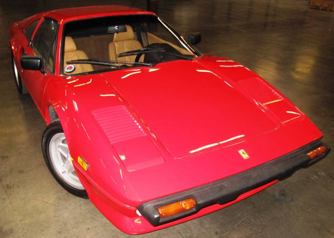 Ferrari Stolen in 1987 Seized on Its Way to Poland