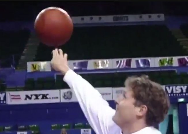 This Old Trick Shot Video of Brett Brown With Bonus Amazing Hair Is Great
