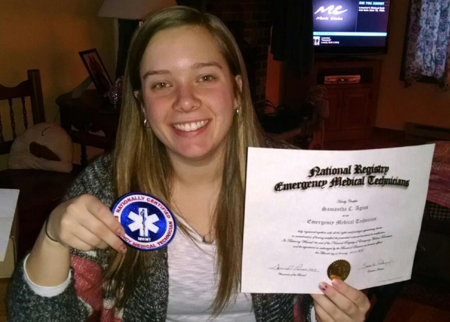 Emt Dies Save Woman