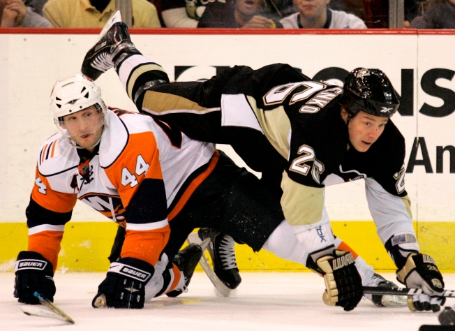 NHL Last Night: Penguins Hold Big Lead