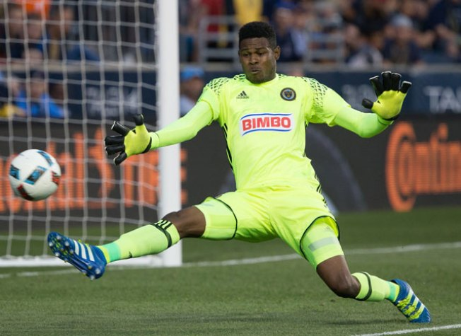 WATCH: 'Plastic Man' Andre Blake Makes One of the Best Double Saves You'll Ever See