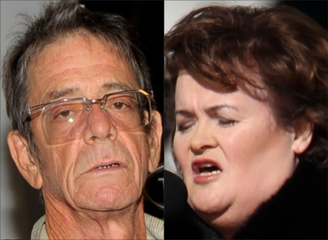 Lou Reed Transforms Attitude Toward Susan Boyle