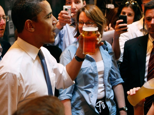 Toast the Inauguration with Obama Beer