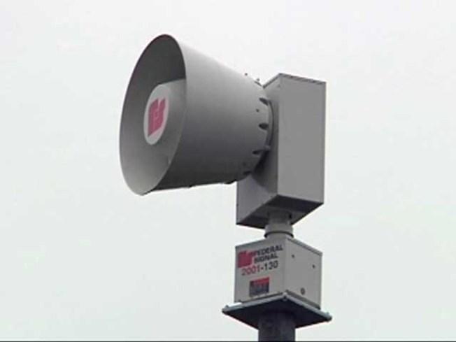 Siren Tests in Delaware