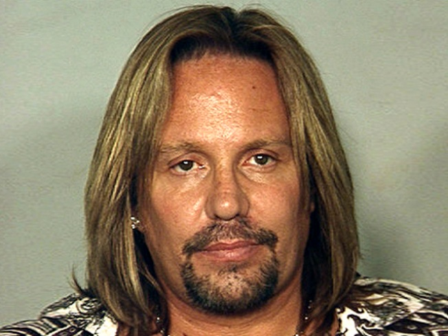 Motley Crue's Neil Pleads Not Guilty to DUI