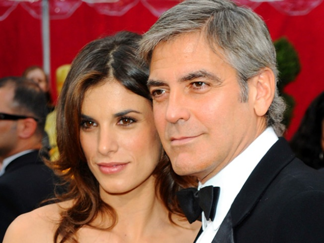 George Clooney, Italian Gal Pal Split
