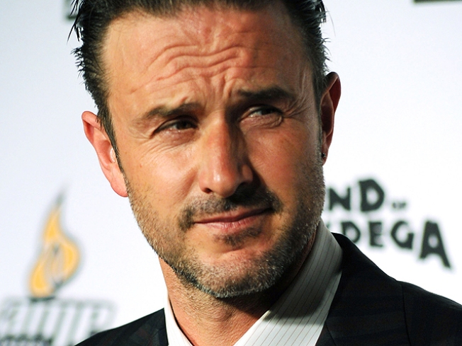 "David Arquette ""Fine"" After Car Crash"