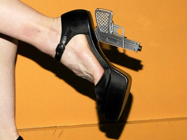 Madonna's Chanel Shoes Are No Joke!