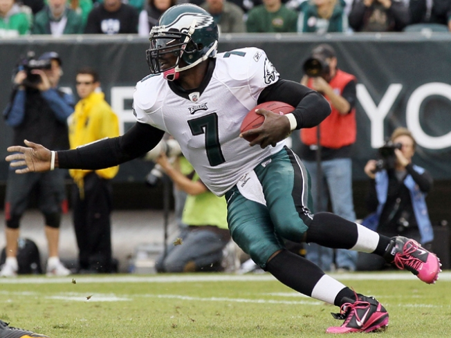Can Vick Inject Life Back Into the Eagles Rushing Attack?