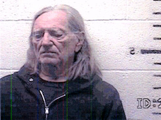 Willie Nelson's Felony Pot Charge Up in Smoke