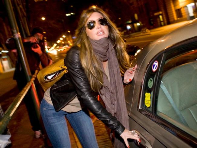 Rachel Uchitel: David Boreanaz 'Pursued Me', Alleged Texts 'Not Authentic'