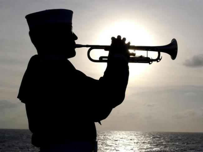 Flag Ceremony at Military Base Too Loud?