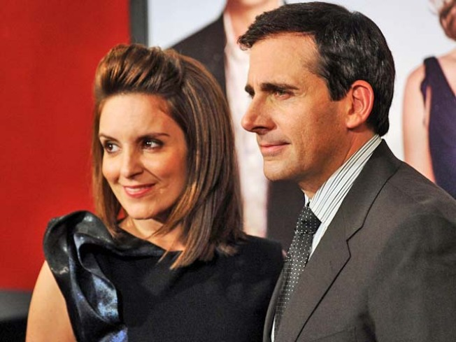 "Steve Carell & Tina Fey Talk ""Date Night"" & Their Four-Minute Kiss"