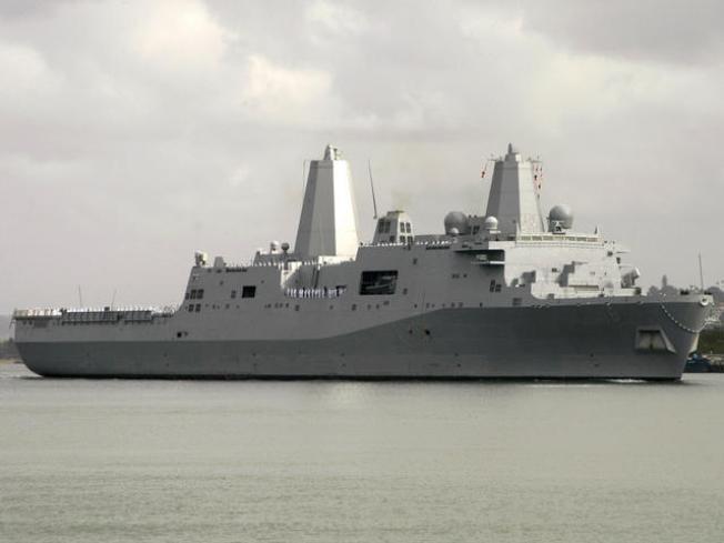 Navy's Oceanic Fender Bender Spikes Oil
