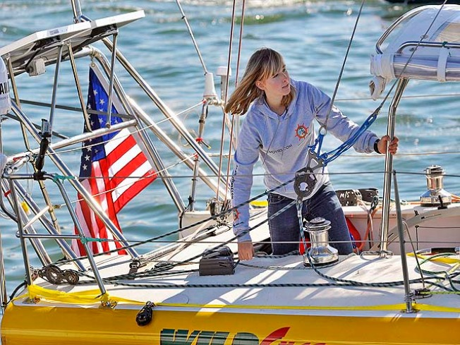 Yacht Discovered 8 Years After Teen Sailor Chasing Record Was Forced to Abandon It