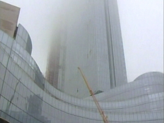 High Winds Cause Crane Collapse in AC