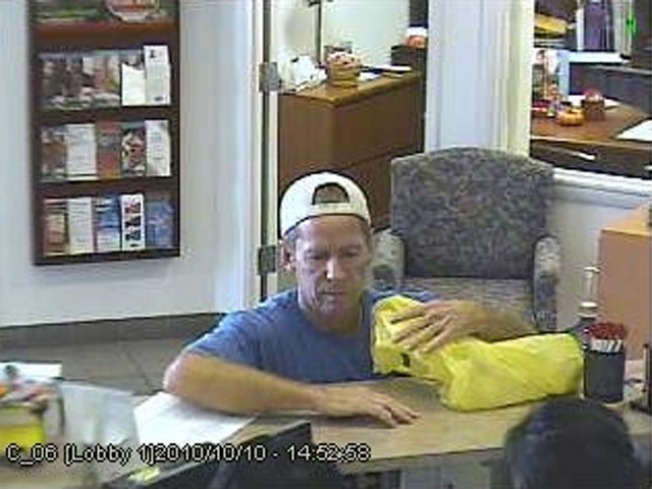 Police Search for Absecon Bank Robber