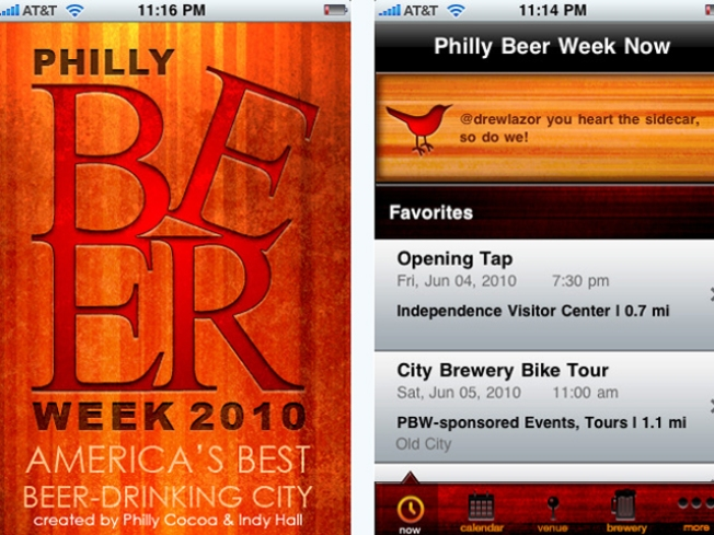 Philly Beer Week Gets Its Own iPhone App