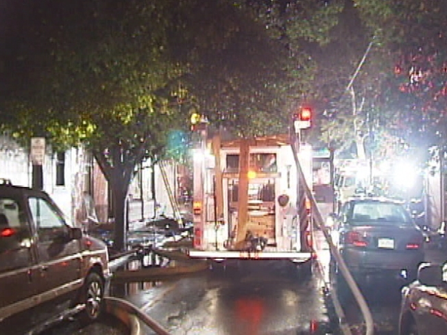 Fire Destroys Bucks County Apartment Building