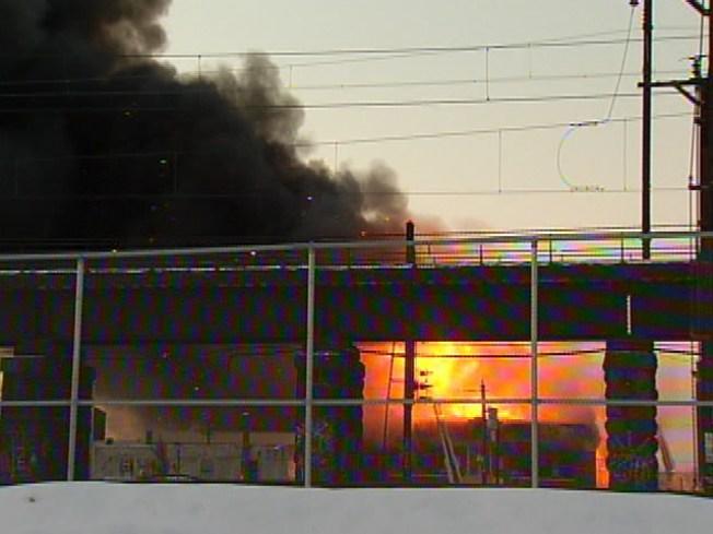 5-Alarm Fire Destroys West Philly Charter School
