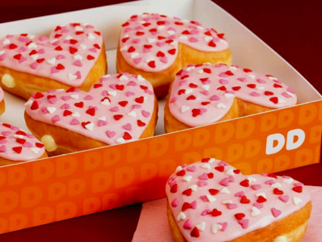 Win Dunkin' Donuts for Your Sweetheart