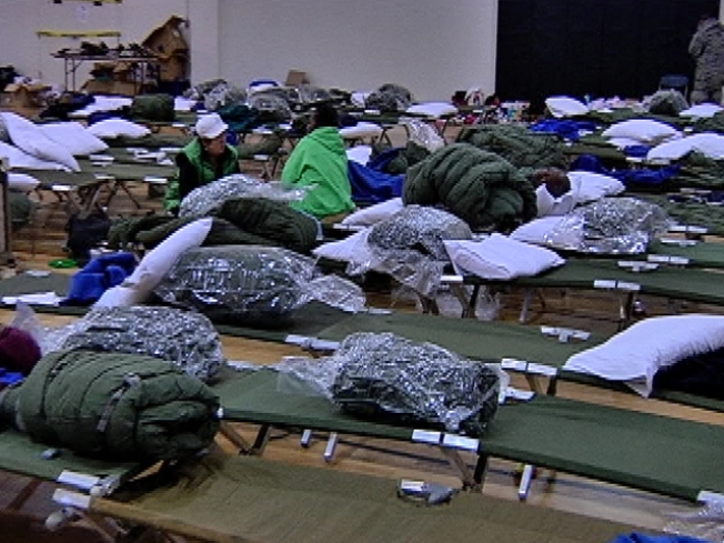 Nearly 600 Evacuees at NJ Air Force Base