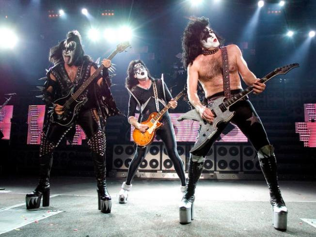 KISS Is Gonna 'Dance All Over Your Face'