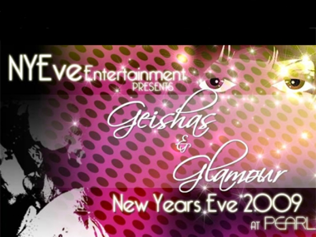 Geishas and Glamour this New Year's Eve at Pearl