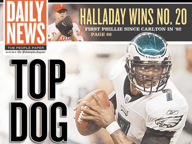 Daily News Handles Vick Announcement Like Daily News