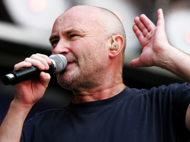 Rocker Phil Collins is an Alamo Fan