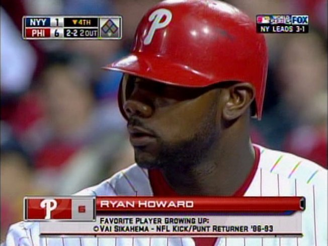 Everybody Loves Vai -- Including Ryan Howard