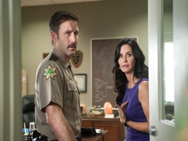 "Exclusive First Look: David Arquette and Courteney Cox in ""Scream 4"""