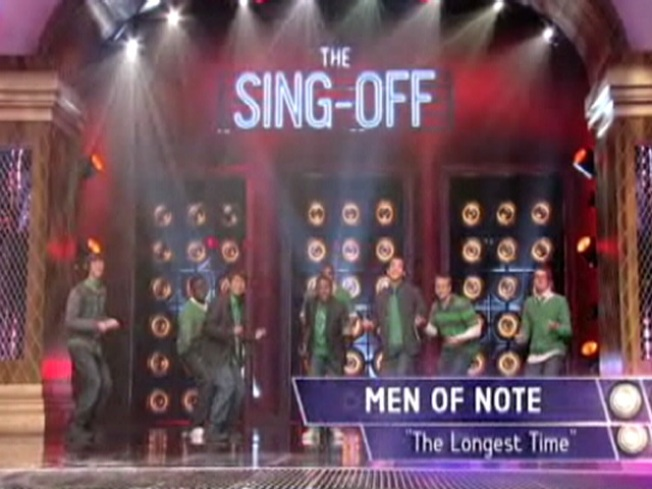 "Jersey Guys Rock NBC's ""The Sing-Off"""