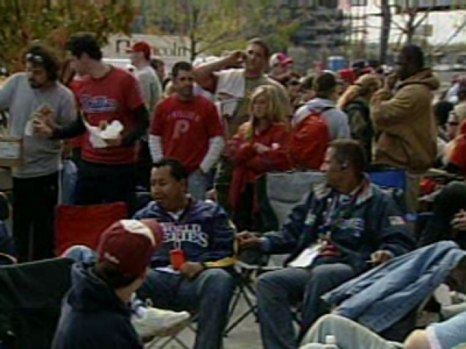 Phillies Phans Camp Out for Tickets That Might Not Exist