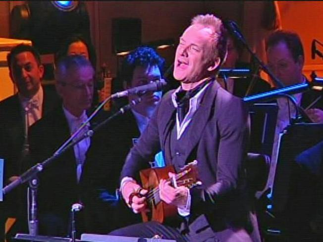 Sting Takes Stage at Academy of Music