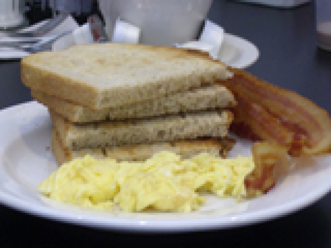 Village Diner, where breakfast is the most important meal of the day.