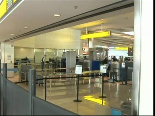 Man, Woman Charged With Carrying Knives at Philly International