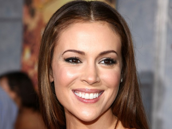 Alyssa Milano Weds In New Jersey