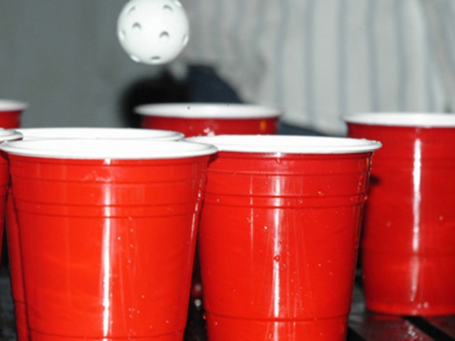 Test Your Beer Pong Skills
